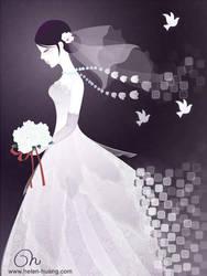 Vanishing Bride by CQcat