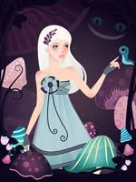 Alice In Wonderland by CQcat