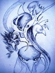 Eagles by ELORACUCA