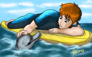 A Dolphin Tale by amisam