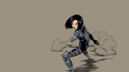 Gunnm (Battle Angel Alita) - Alita - 02 by theBakamono