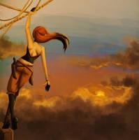 Airship by aninael
