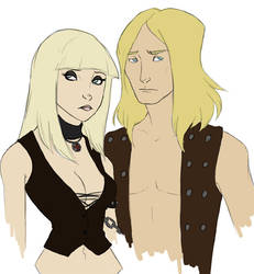 Lars and Lita by aninael