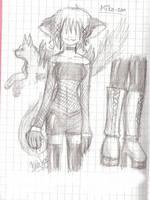 My chara sketch 4 Dave by Shiozu