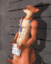 Late Arrest - Nick Wilde NSFW by Cross-kun
