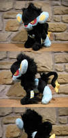 Luxray Plush by WhittyKitty
