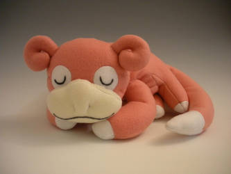 Sleeping Slowpoke Plush by WhittyKitty