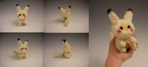 Baby Pikachu Plush by WhittyKitty