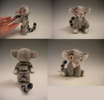 Baby Kougra by WhittyKitty