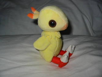 Baby Chocobo Plushie by WhittyKitty
