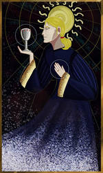 Antonio Castleman-Belli - Tarot of Temperance by TheGingerArtist