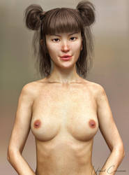 Mei Lin 8 Test Render 1 by UnboundConsciousness
