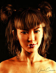 Mei Lin 8 Test Render 2 by UnboundConsciousness