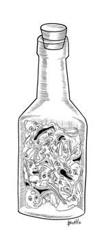 bottle by dshpilevoy