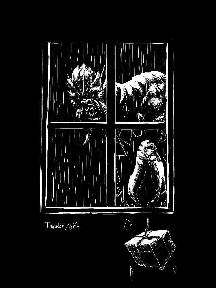 thunder, gift by dshpilevoy
