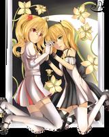 CR: Efiria and Umbra by hachi-kyuu
