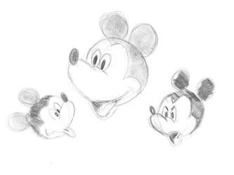Studying Mikey Mouse by ddn8