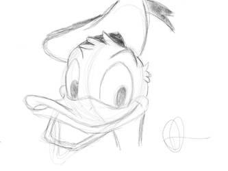 Donald duck by ddn8