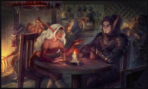 Commission: Taliori and Gabriel by Alteya