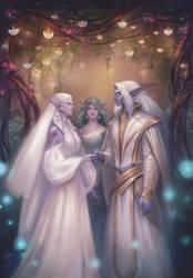C: Kali'dreth and Reaelorn by Alteya