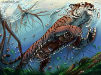 Tiger Submarine by K-EL-P