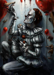 Float Pennywise by K-EL-P