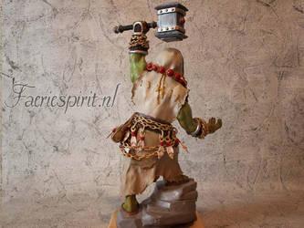 Thrall Sculpture by OfficialFaerieSpirit