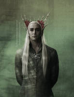 The Great King Thranduil by LindaMarieAnson