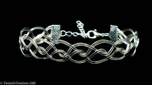 Silver and Gold Waves by TwistedCreationsLMS