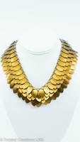 Bronze Scale Necklace by TwistedCreationsLMS
