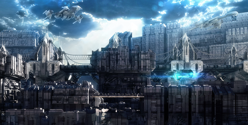 The Future City 2045 by ShannShah