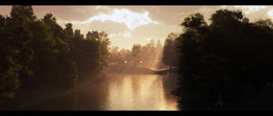 Merced River by ShannShah
