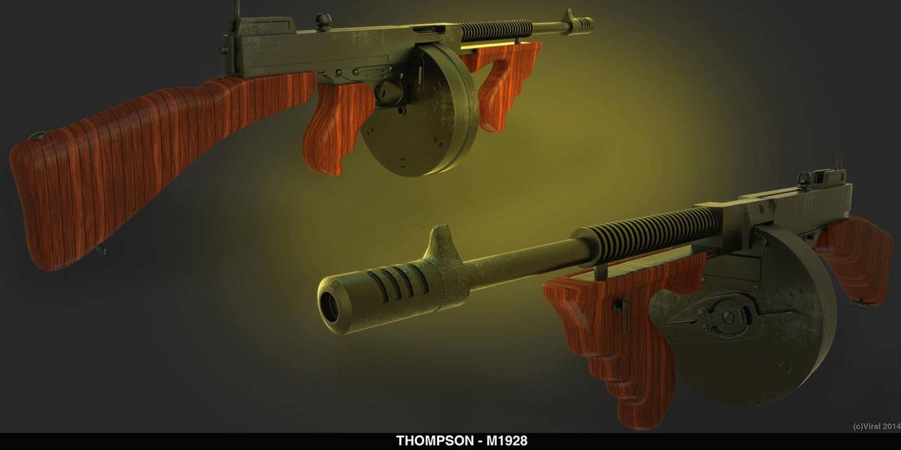 tommy gun by ShannShah