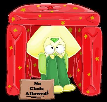 No Clods Allowed! by mlpdarksparx