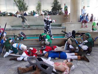 Attack of the Cuccos by SolarisYuna