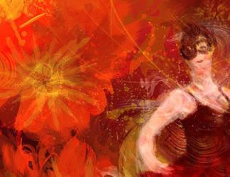 Dance of the Flamenco by SolarisYuna