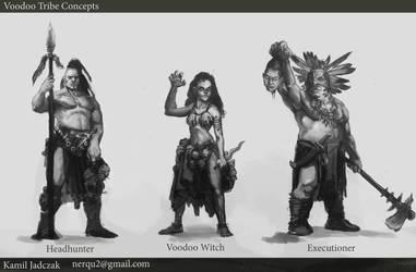 Voodoo Tribe Concepts by Sarmati