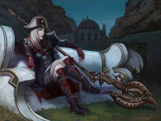 Final Fantasy commission by Sarmati