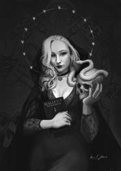 Saint Witch COMMISSION by Sarmati