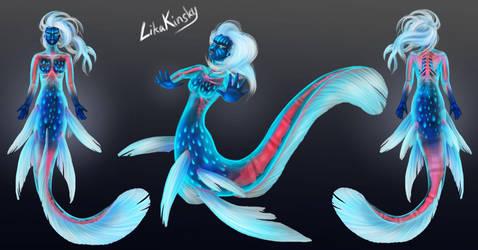 Muraena Mermaid Concept by LikaKinsky