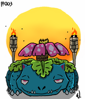 #003 Venusaur by twitchSKETCH
