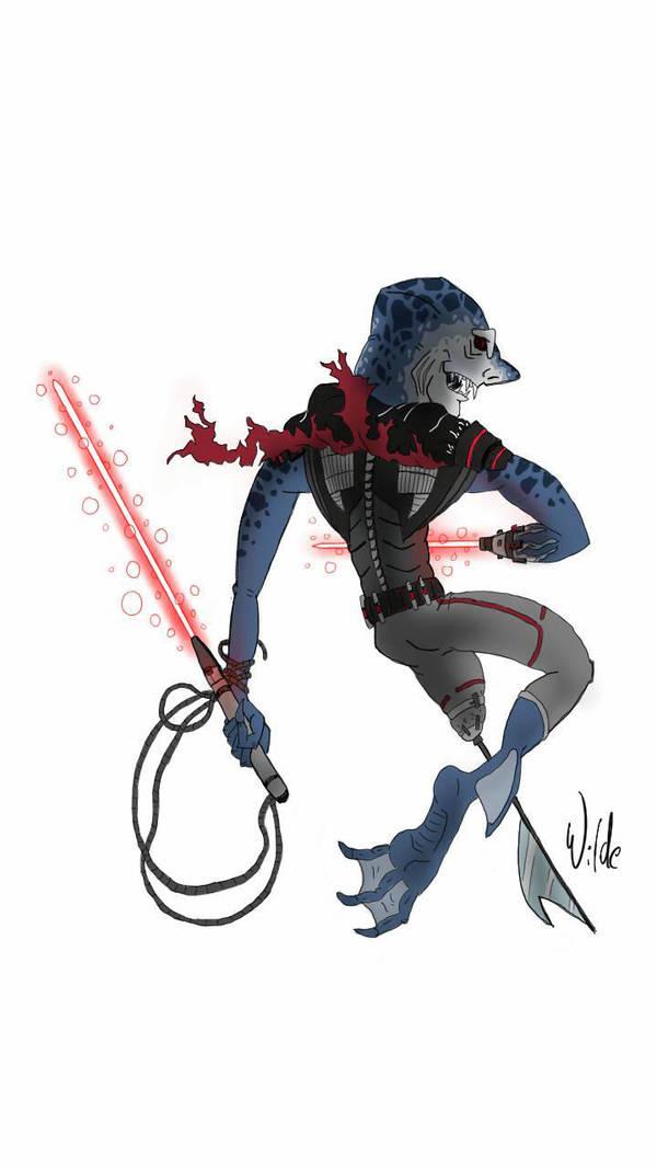 Star Wars Sith Karkarodon by twitchSKETCH