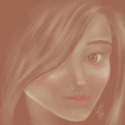 Eastern Monochrome Smile by Vinisocram
