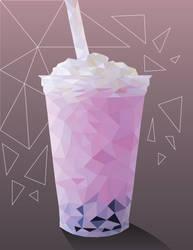 Bubble Tea Geometric Project by Ravynflight