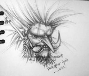 Darkspear Troll by silent-mooby