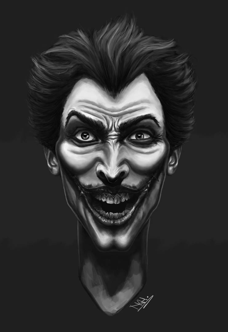 The Joker by NicolaHynes