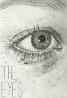 The Eyes - pencil drawing by NicolaHynes