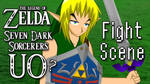 Zelda SDS UO Fight Scene by ThisDarkLight