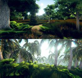 Us Studios Unity Environments 1 by ThisDarkLight