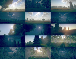 Us Studios Unity Environments Collage by ThisDarkLight